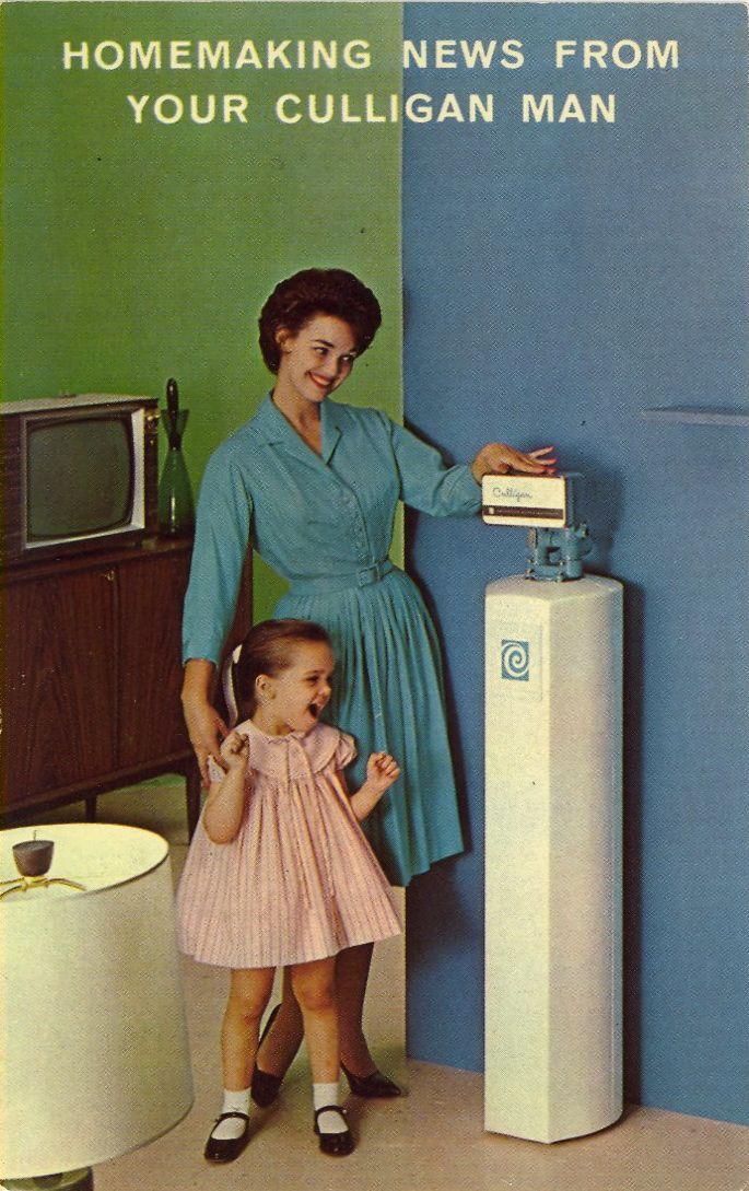 Bad Postcards Culligan Vintage Advertisements Retro Ads