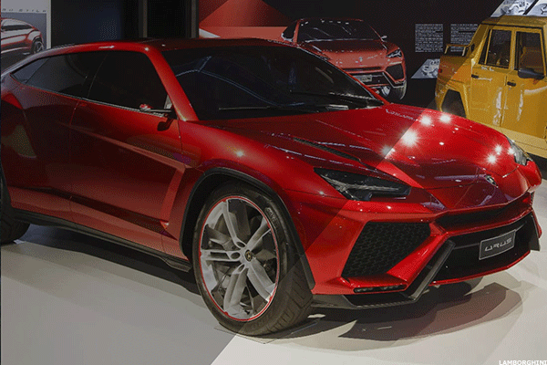 Volkswagen S Lamborghini Suv Could Double The Supercar Brand S