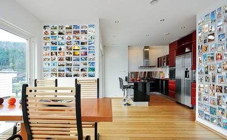 collage con flores en la pared - Buscar con Google