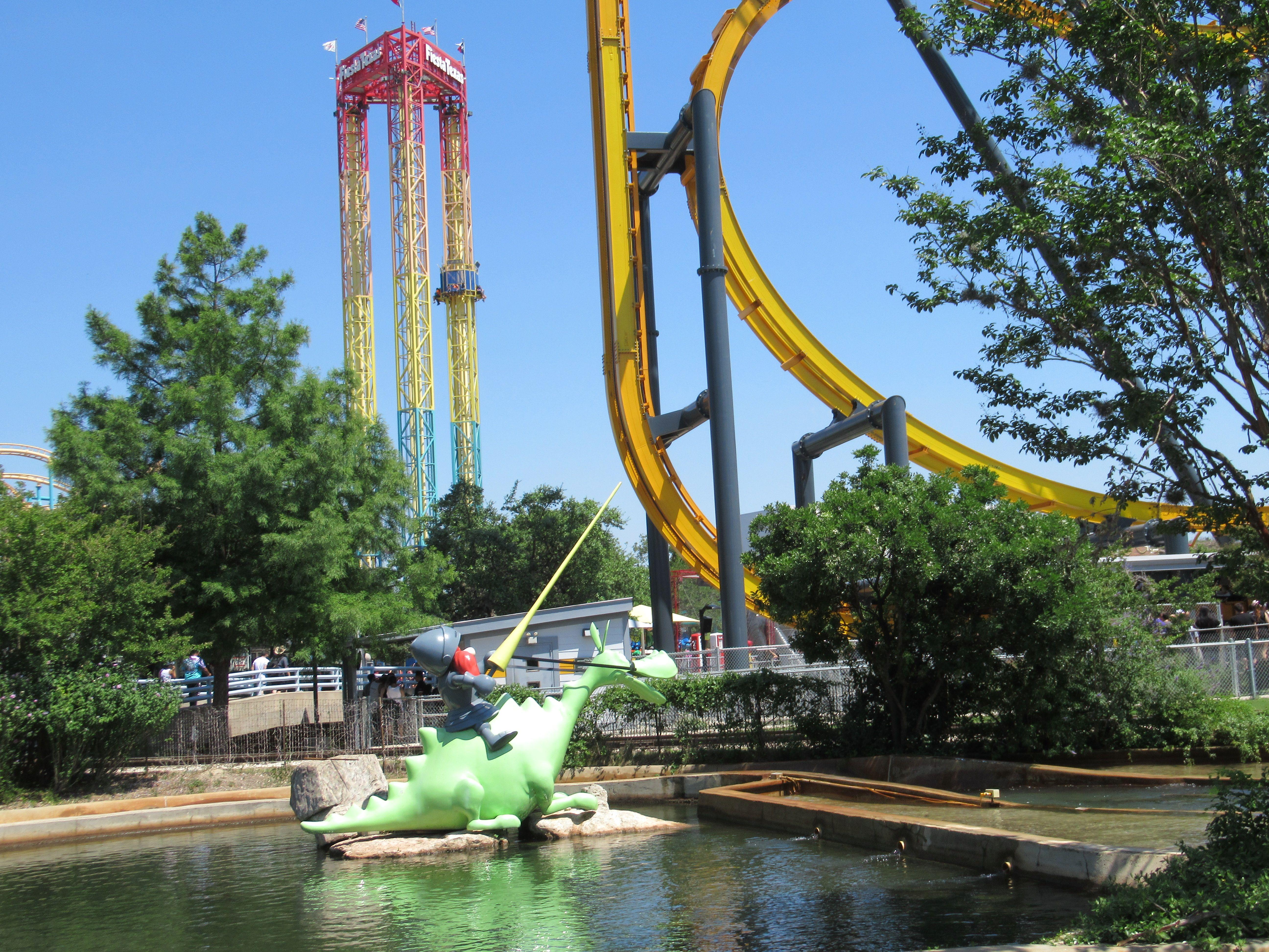 Pin By Thrillseeker360 On Six Flags Fiesta Texas Six Flags Fiesta Texas Six Flags Fair Grounds