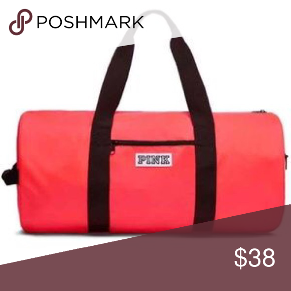 Shop Women s PINK Victoria s Secret Orange size OS Travel Bags at a  discounted price at Poshmark. Description  New in package- neon coral -  price firm. aabc5e2379