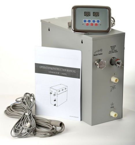 Steam Generator Kit 6 Kw With Control Panel Steambox For Shower