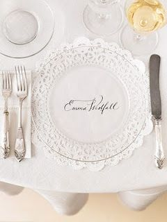 This would be really pretty for a bridal luncheon...you could even ...