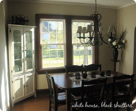 Beau Room · Paint Colors For Rooms With Dark Wood Trim