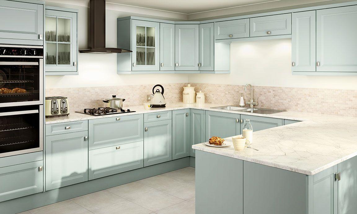 Hygena Valetti Blue Kitchen Kitchen inspirations