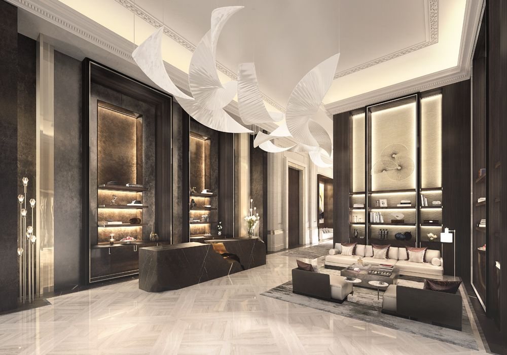 5 Hotel Residences Astana Reception Front With Images Lobby