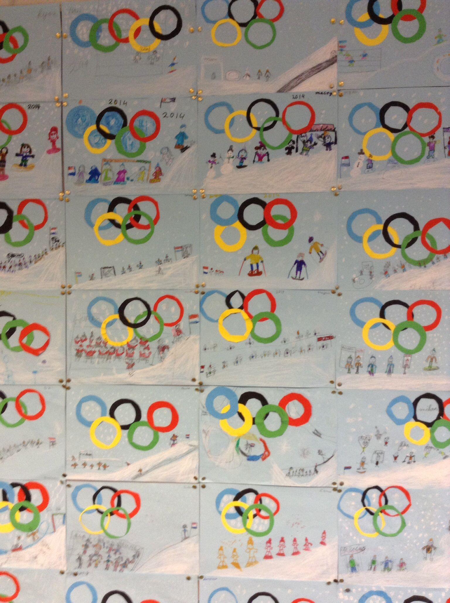 De Olympische Winterspelen Zijn Begonnen