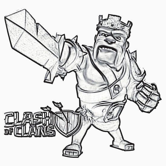 Clash Of Clans Coloring Pages Pdf : Clash of clans pinterest royale
