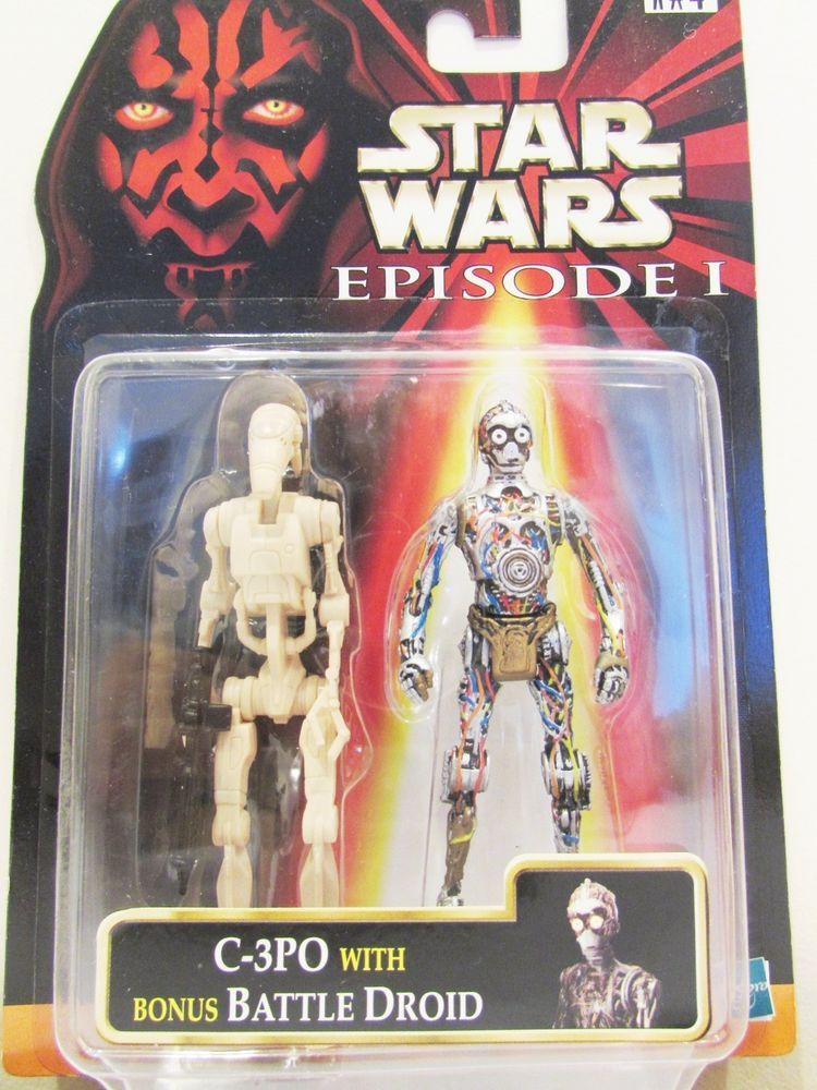 Episode 1 - Action Figure QUEEN AMIDALA with Battle Droid Star Wars EP1
