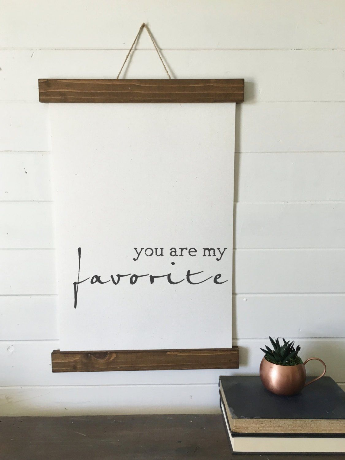 You are my favorite/valentines day/wall art/canvas print/laurel ...