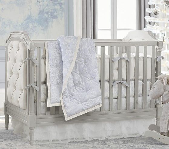 Blythe Crib, Vintage Simply White, Unlimited Flat Rate Delivery ...