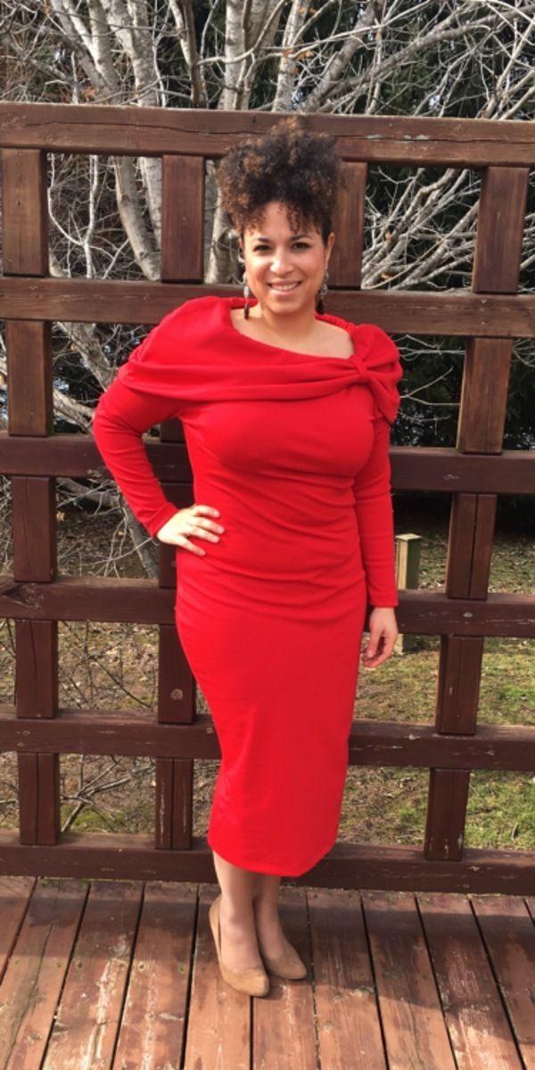 McCall\'s Misses\'/Miss Petite Raglan Sleeve Dresses 7501 pattern ...