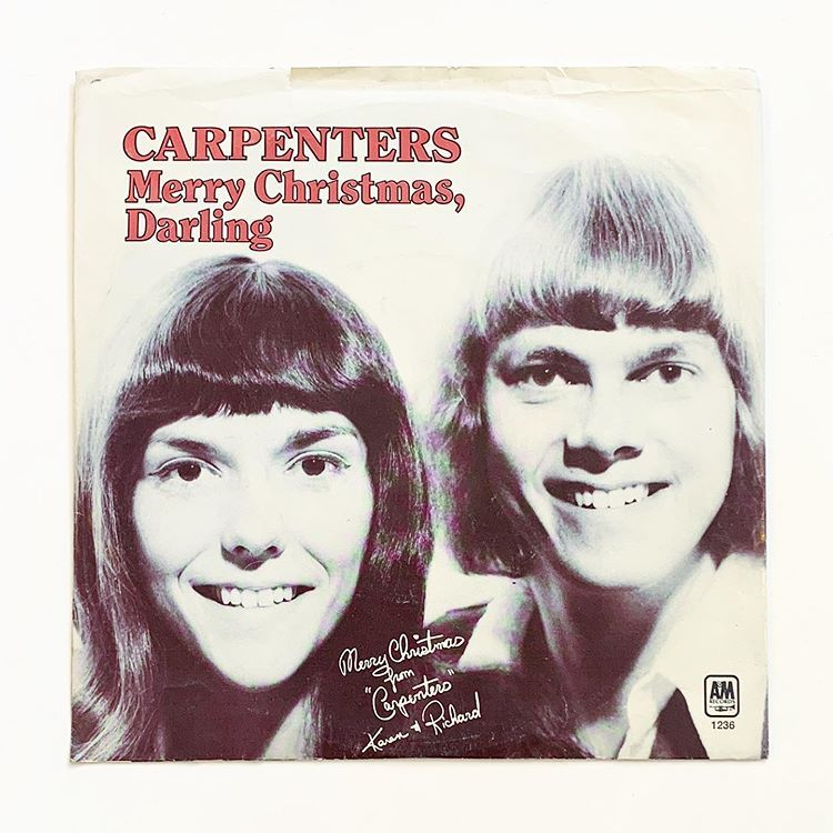 Merry Christmas Darling: Carpenters' Christmas 2020 why does this look like a face swap? carpenters, merry christmas