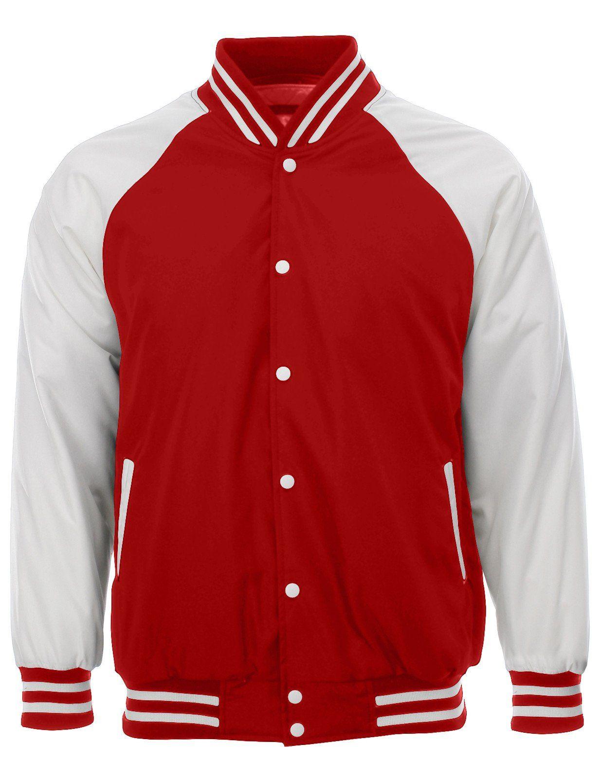 Mens Varsity College Baseball Padded Winter Jacket (VSJ01