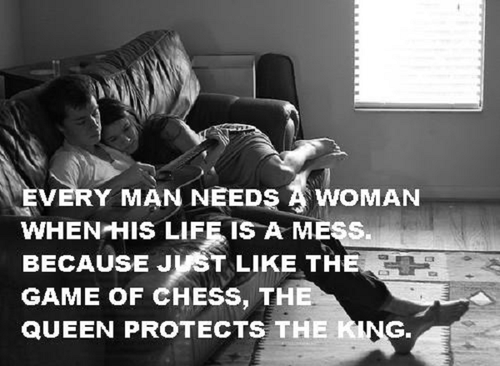 why a man needs a woman in his life