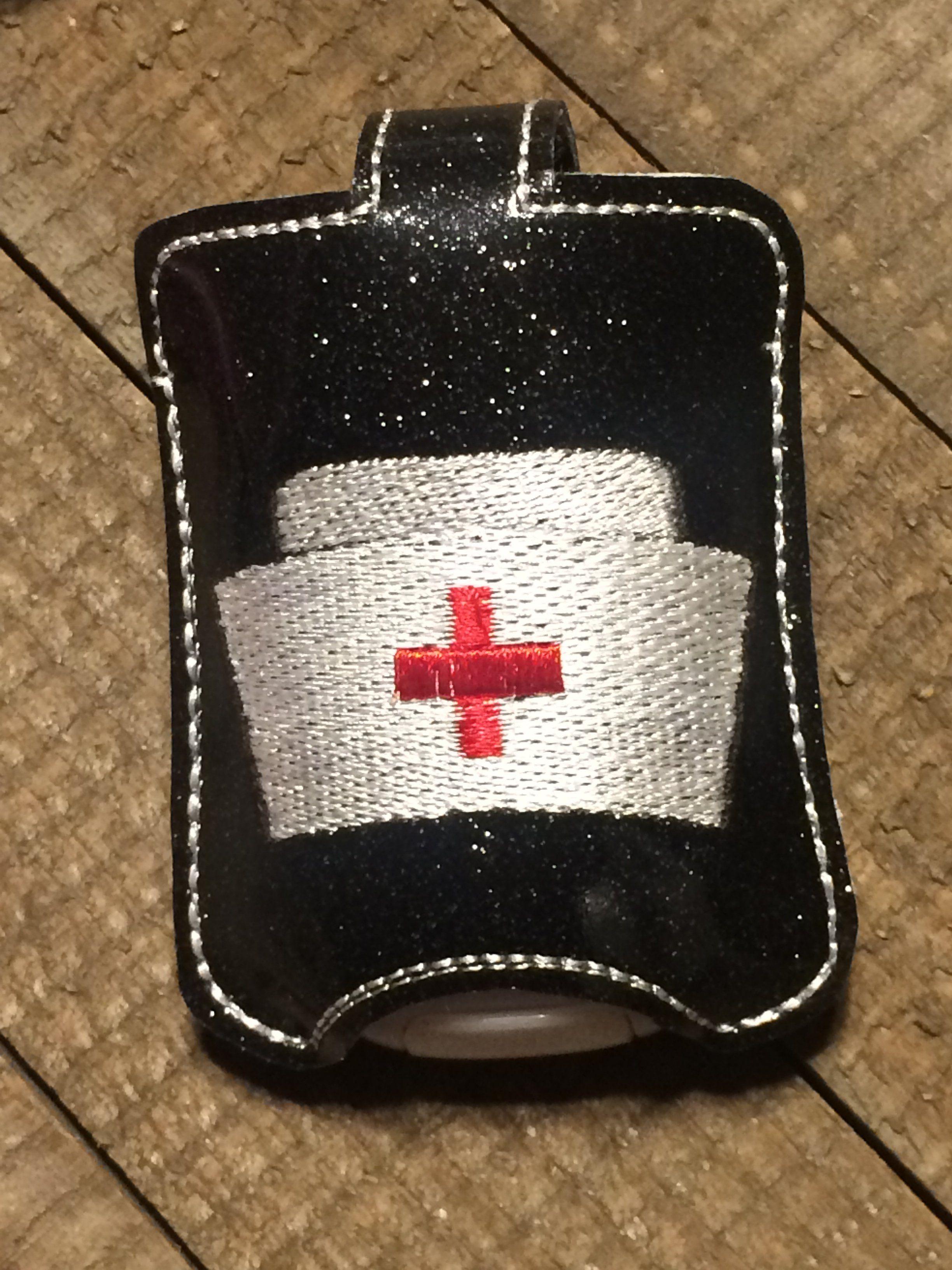 Nurse S Cap Hand Sanitizer Hand Sanitizer Glitter Vinyl Nurse