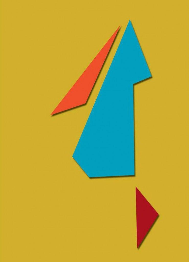Raúl Lozza - Obra Nº 40, 1946 45 x 60, Esmalte sobre madera. Alude a ...