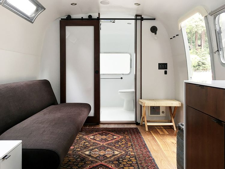 Custom airstream interiors airstream pinterest for L interieur trailer