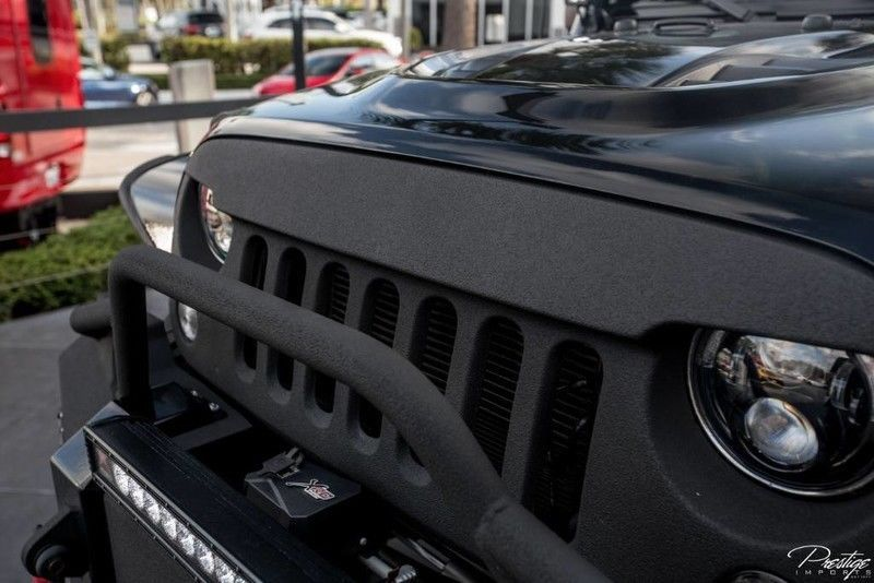 2016 Jeep Wrangler UNLIMITED BLACKED OUT SOBE JEEP CUSTOMS