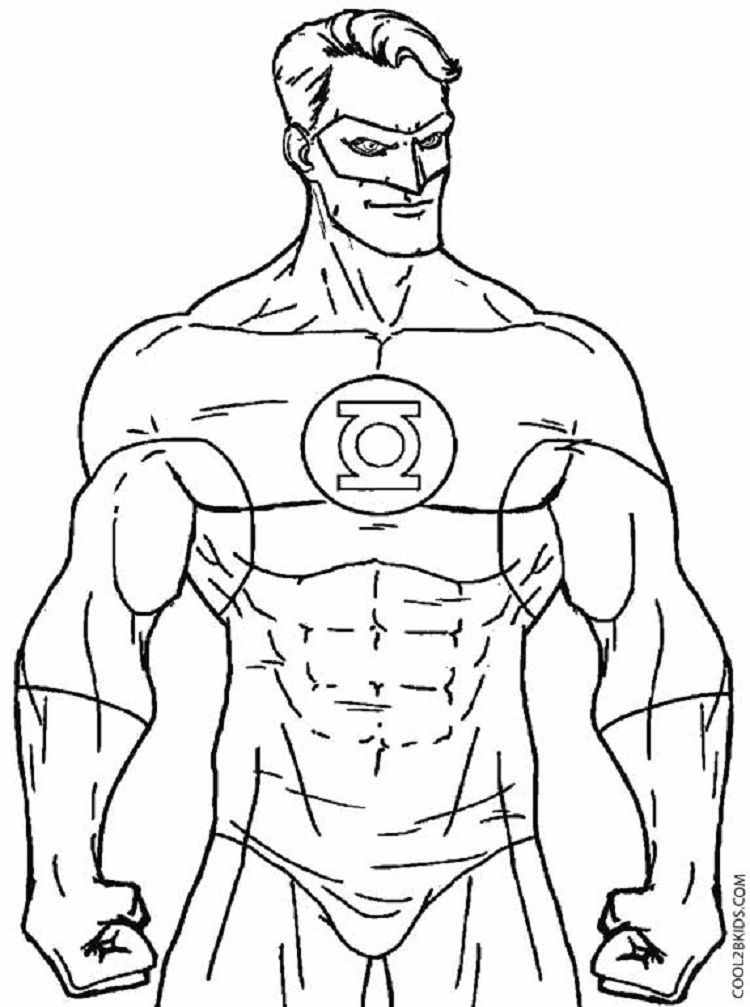 Green Lantern Superhero Coloring Pages Superhero Coloring Pages Superhero Coloring Avengers Coloring Pages