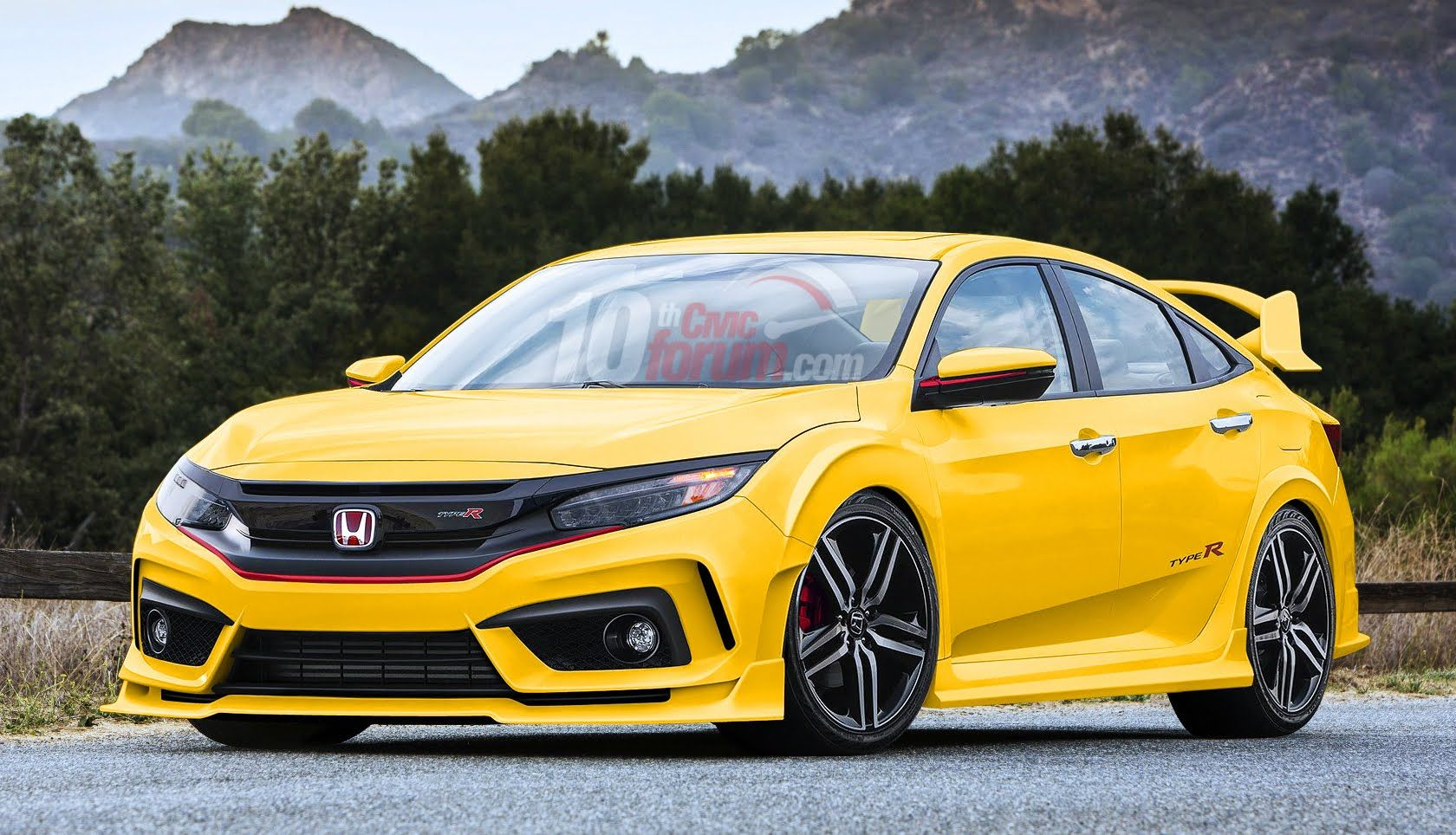 2017 honda civic type r sedan 2016 honda civic 10th. Black Bedroom Furniture Sets. Home Design Ideas