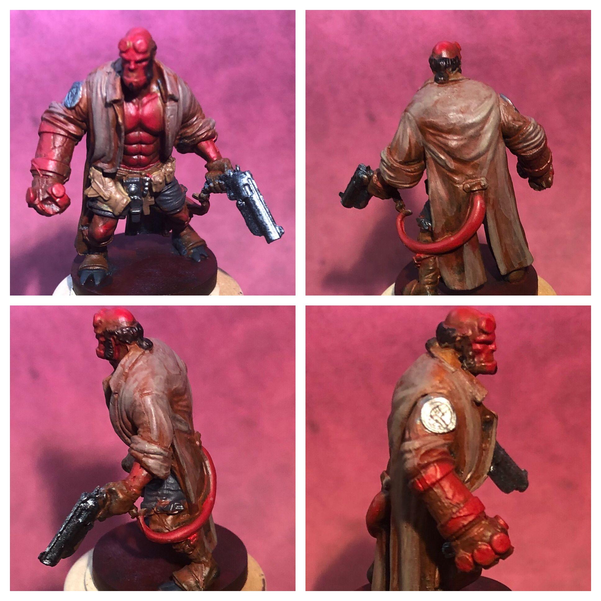 Hellboy, Mantic Hellboy The Boardgame Hellboy art, Art