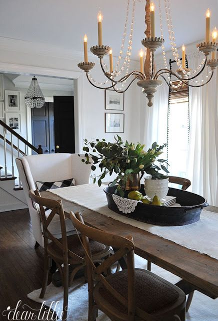 Birch Lane Dining Room Refresh By Dear Lillie Rustic Living Room Home Decor Farmhouse Dining Birch lane dining room refresh
