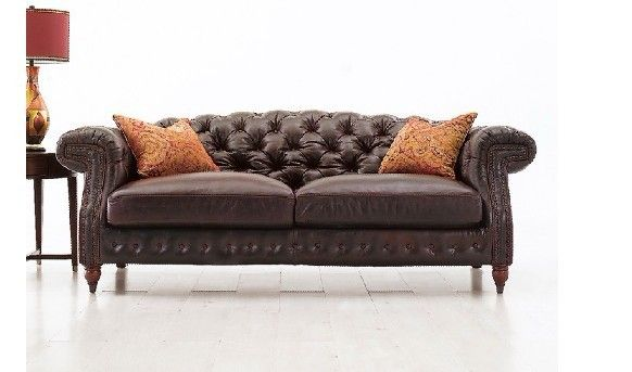 Jixinge High Quality Clic Chesterfield Sofa 3 Seater Leather Living Room Furniture