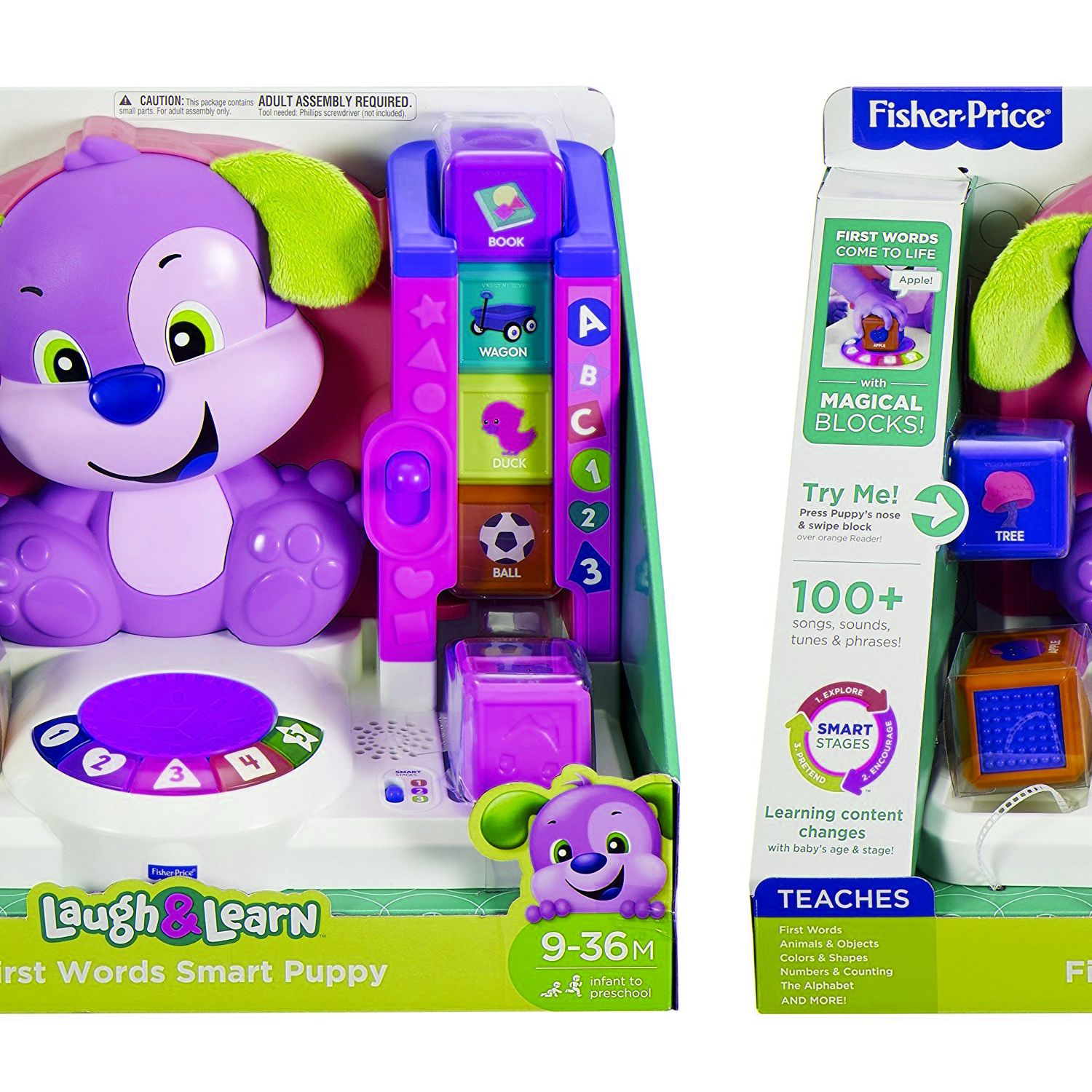 Fisher Price Laugh /& Learn First Words Development Smart Puppy Toddler Baby Toy.