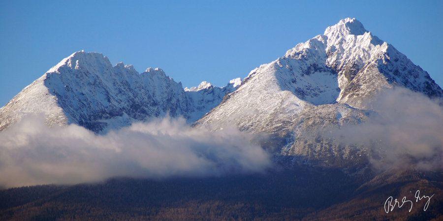 Krivan Gerlach Peaks High Tatras Slovakia Slovakia Gerlach Presov