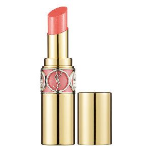 Yves Saint Laurent Rouge Volupté Shine in 15 Corail Intuitive - smokey soft coral #sephora