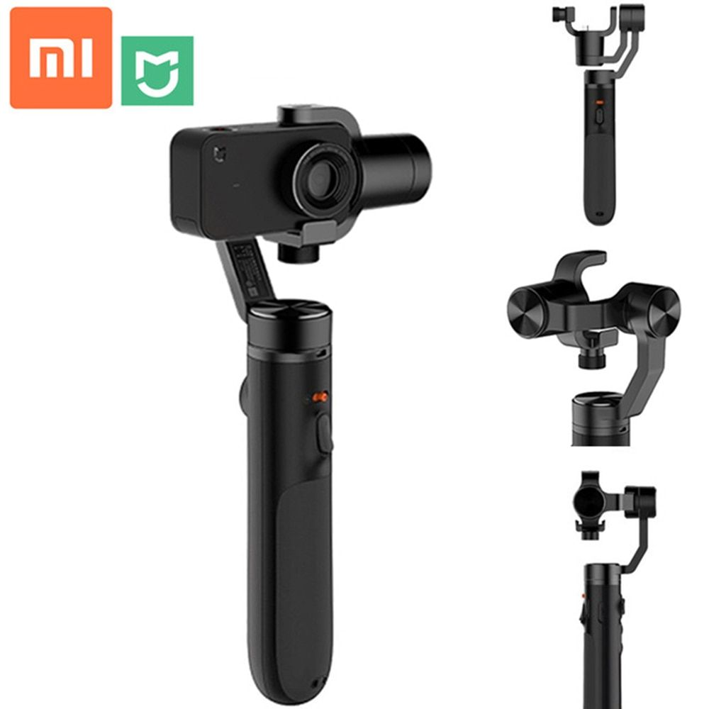 Xiaomi Mi Action Camera Handheld Gimbal Brushless Gimbals Stabilizer For Mijia Sports Camera With 5000mah Ba Action Camera Sports Camera Best Underwater Camera