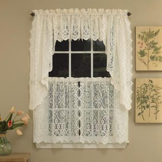 Curtain Style Valance Swag Pair Or