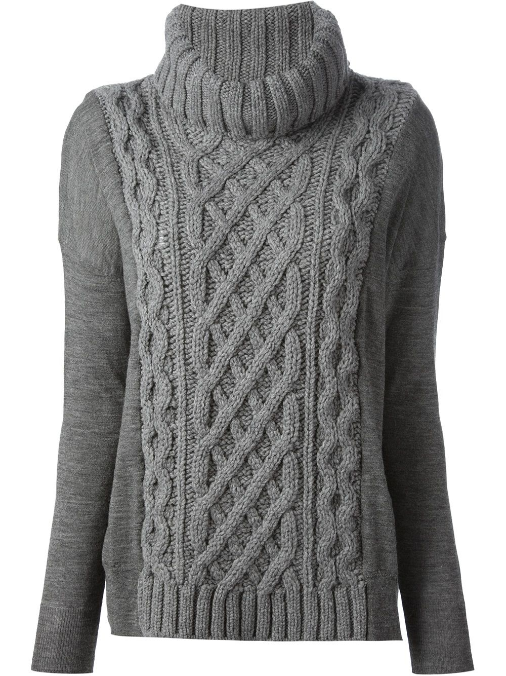 coastweberahaus-gray-cable-knit-sweater-product-1-14250581-0 ...