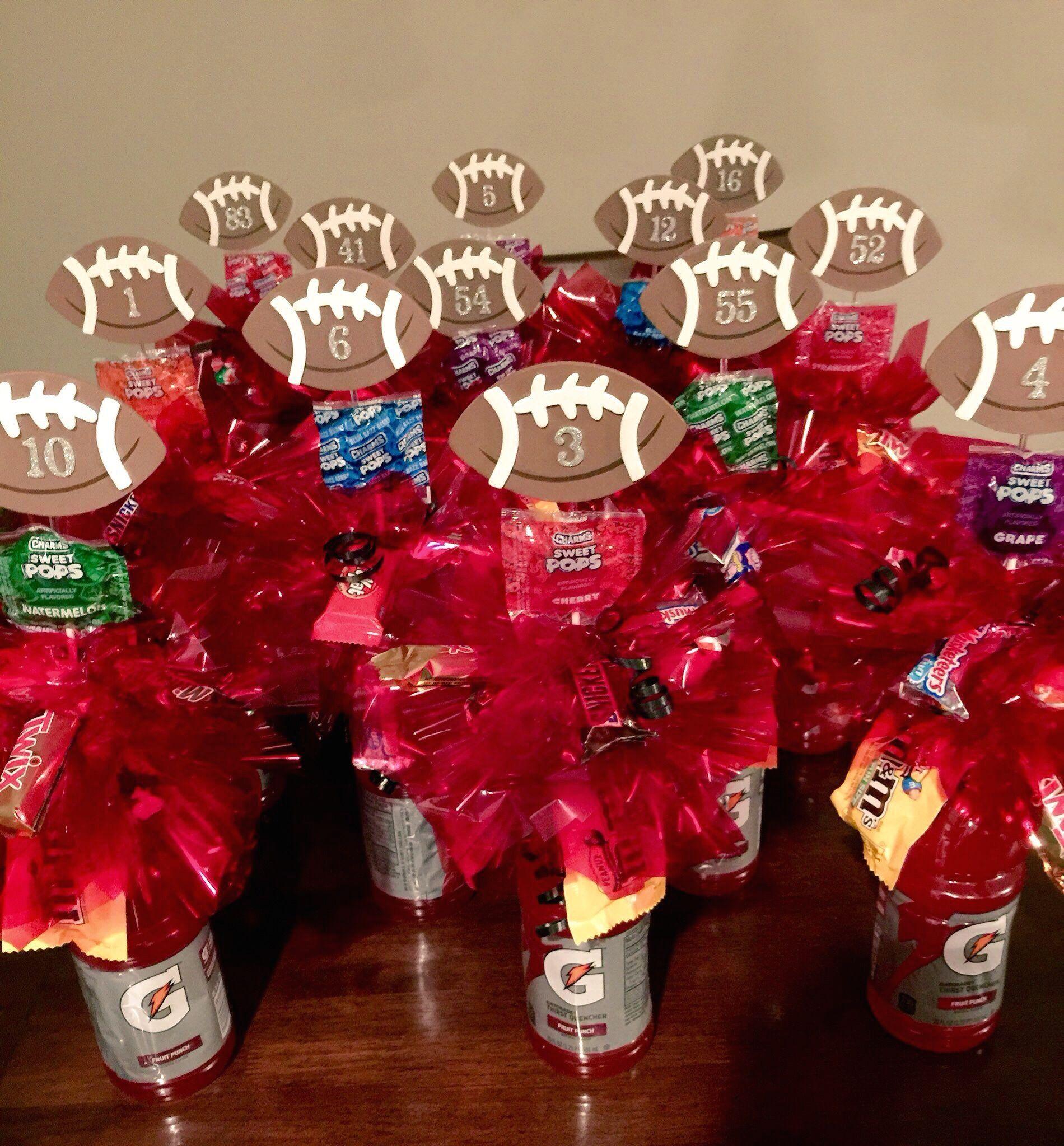 Football Senior Night Gatorade Candy Bouquets. | 1000 ...