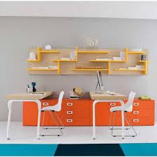 Blue and orange office color - Google Search