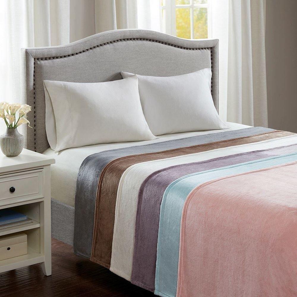Luxury Soft & Lofty Microlight Year Round Warmth Blanket