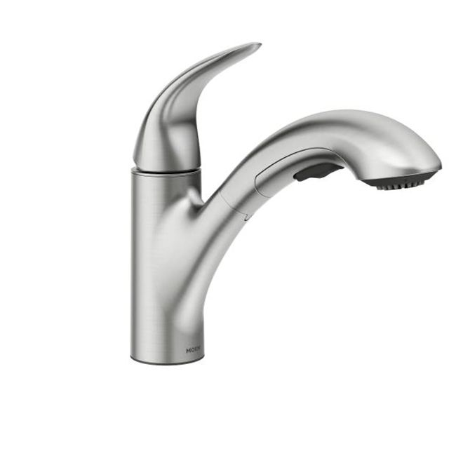 Moen Medina 1 Handle Pull Out Kitchen Faucet Stainless Steel