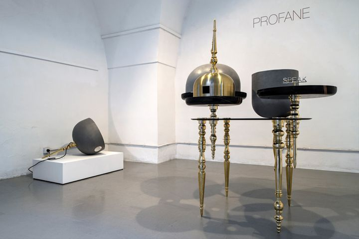 Profane hybrid object by Richard Yasmine