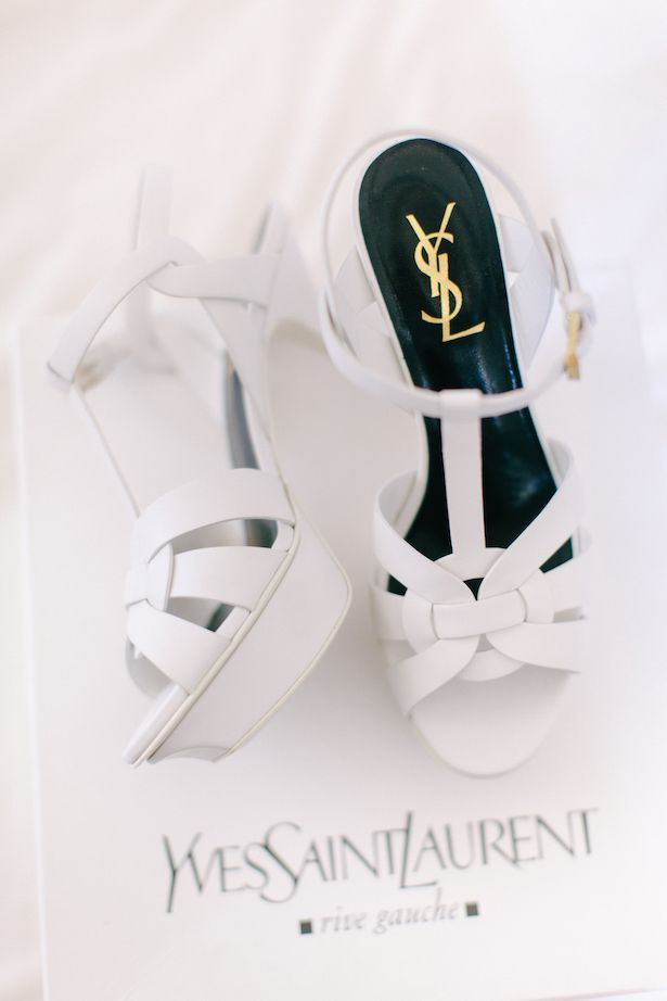 Yves Saint Lau Wedding Shoes Facibeni Fotografia