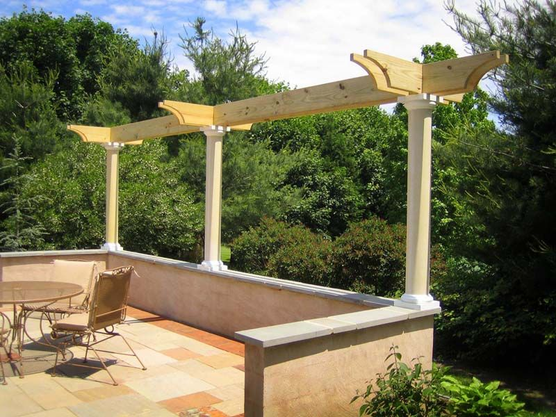 Pergola millwork for the garden pinterest pergolen