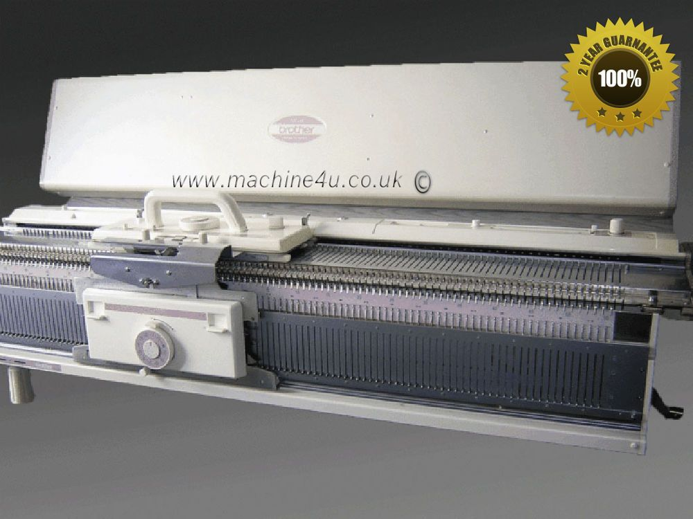 Brother Chunky Knitting Machine KH 260 + KR 260 Ribber Punch card Package K...