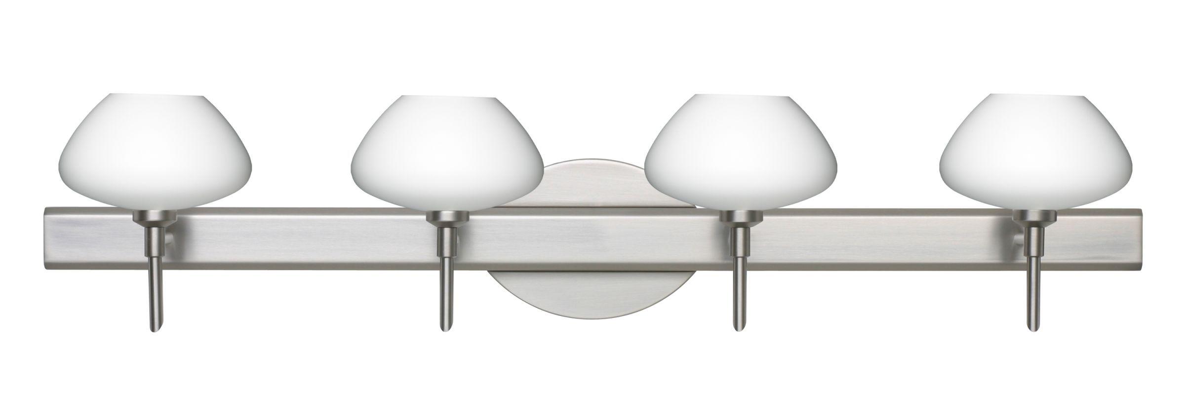 Besa Lighting 4SW-541007 Peri 4 Light Reversible Halogen Bathroom ...