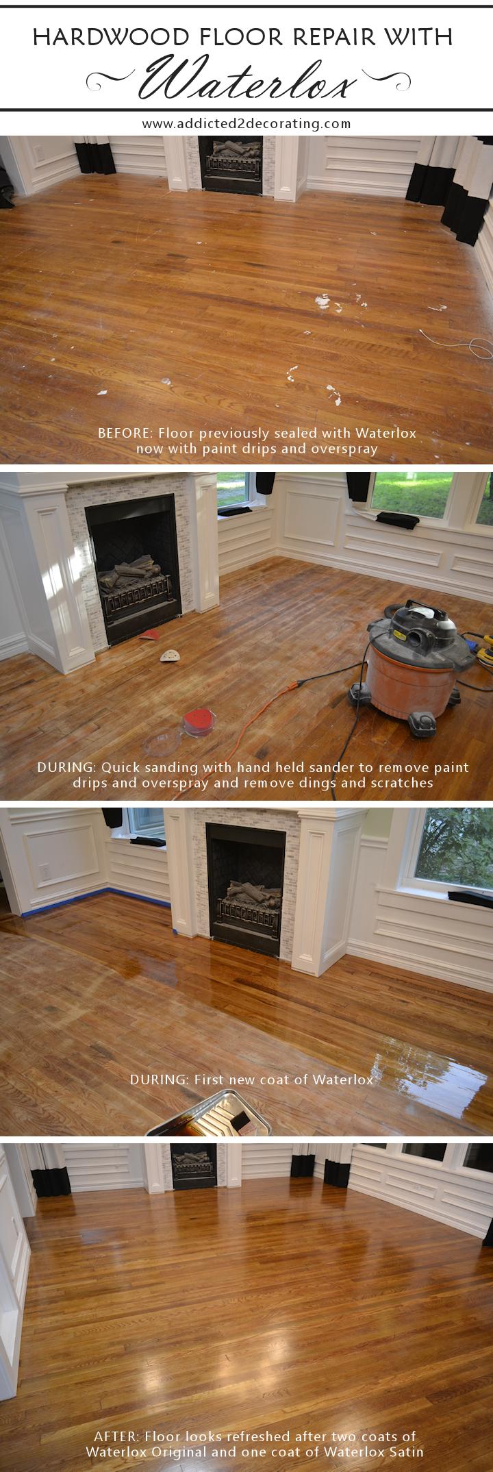Finished Roman Shade And Finished Hardwood Floor Refresh Pinterest - How to refresh hardwood floors