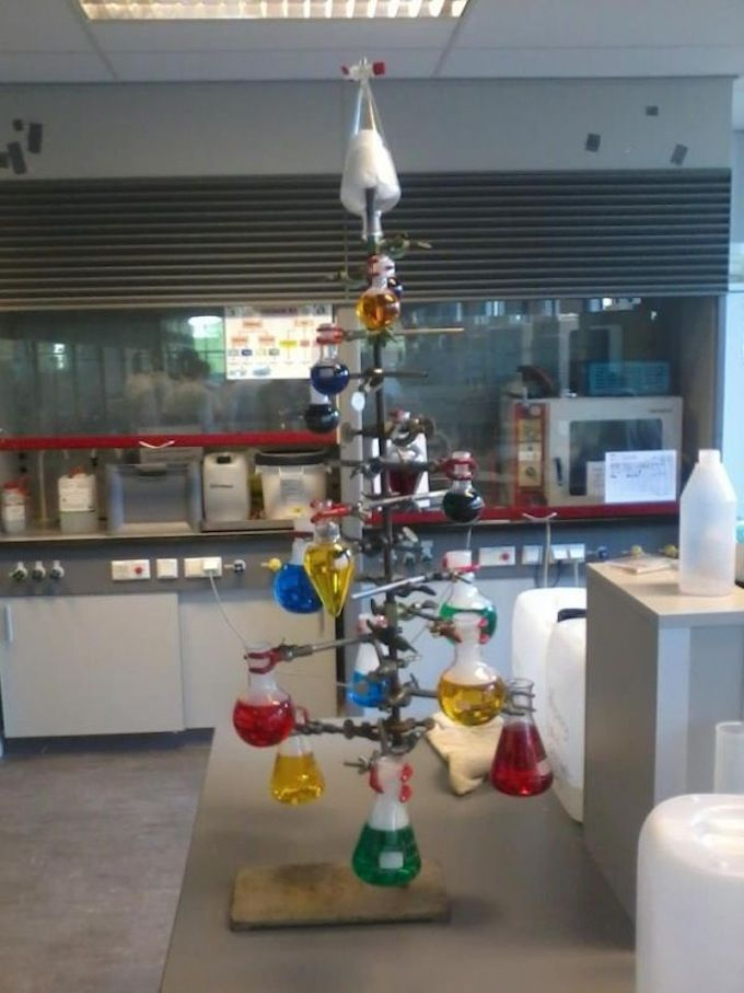 Christmas Chemistree para os meus amigos da ETFQ-RJ!!!