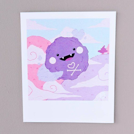 Pokemon Snap Polaroid Prints made by Ann Alonso -