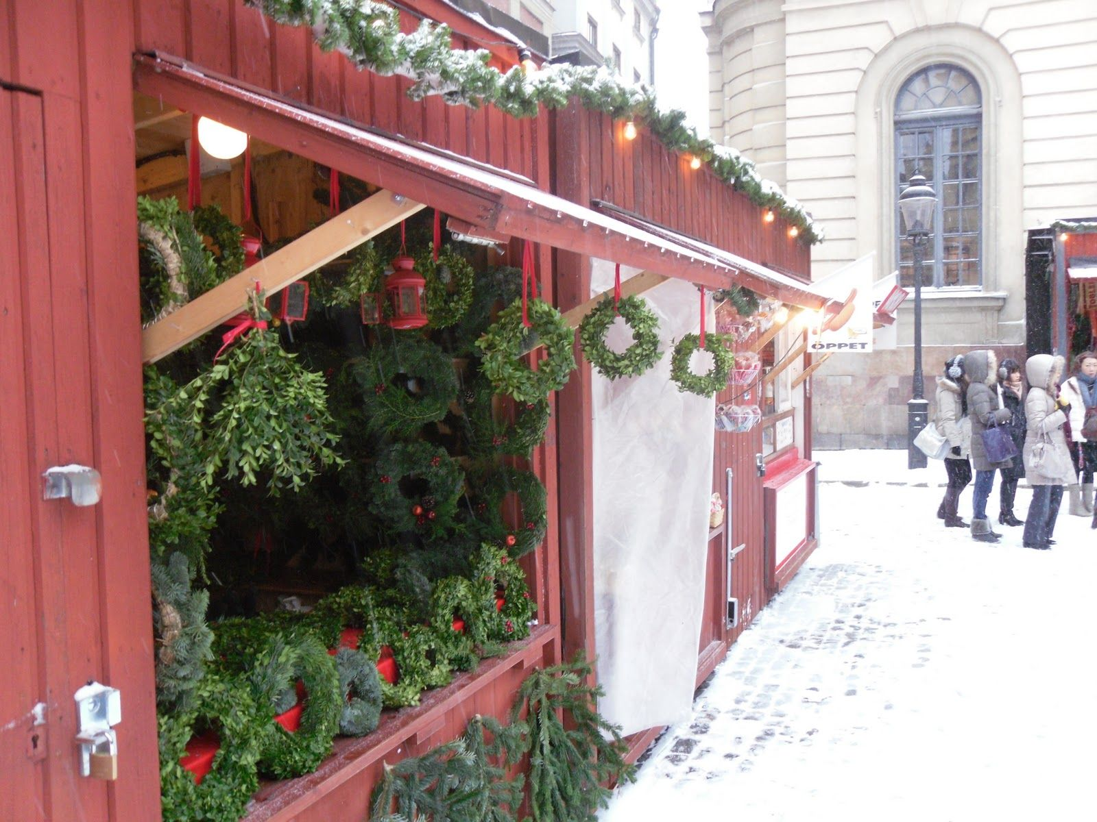 The Stockholm Tourist Christmas Markets In Stockholm