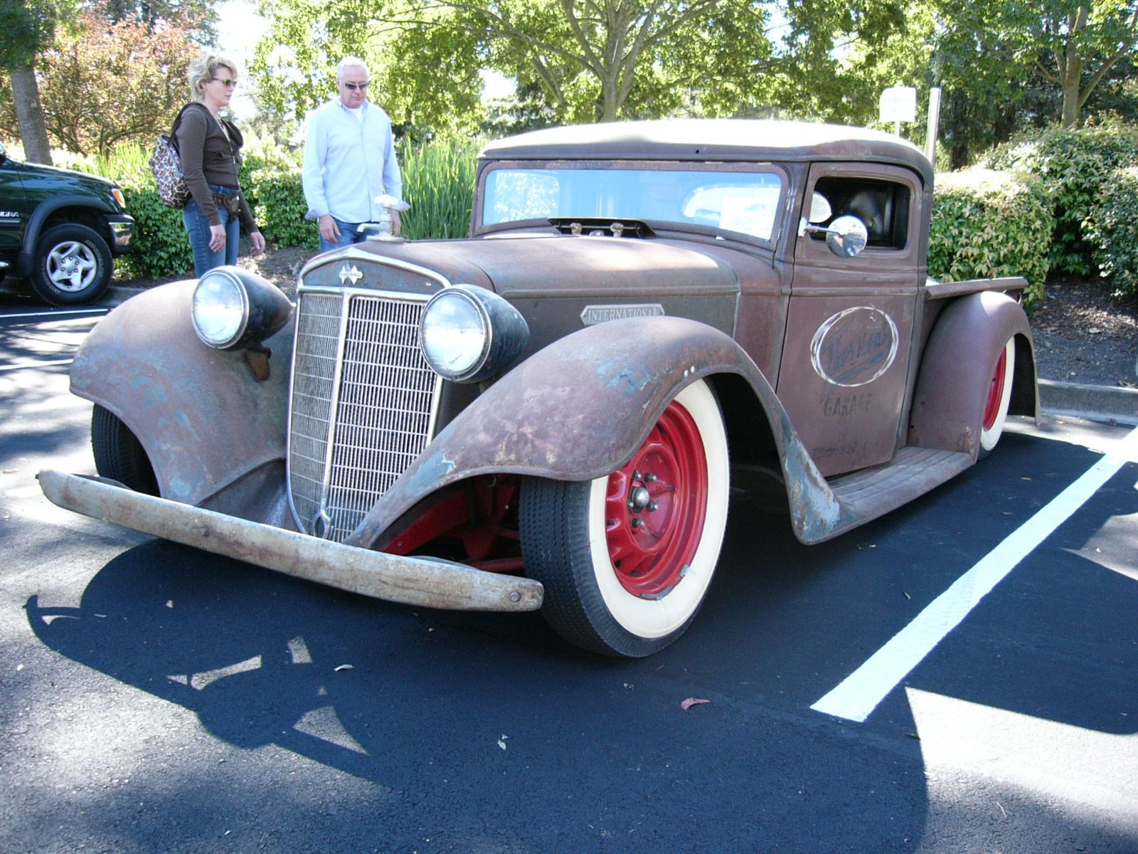 1934 International Lowrider Rat Beauty by RoadTripDog.deviantart.com on @DeviantArt
