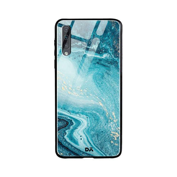 DailyObjects Marble Ocean Glass Case Cover For Samsung Galaxy A30s Buy Online in India - DailyObjects