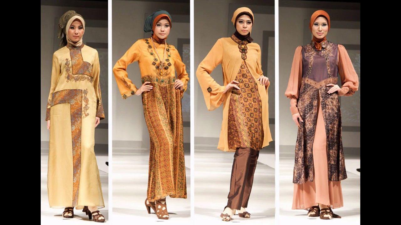 Model Baju Gamis Batik Orang Tua  Fashion, Women, Kimono top